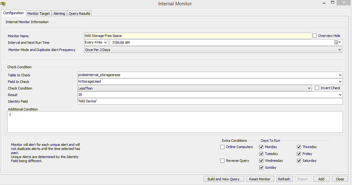 NAS Drives reporting to Labtech - General Discussions - MSPGeek