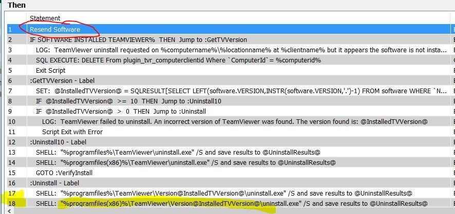 Script 'IF Software Installed' - Scripts - MSPGeek