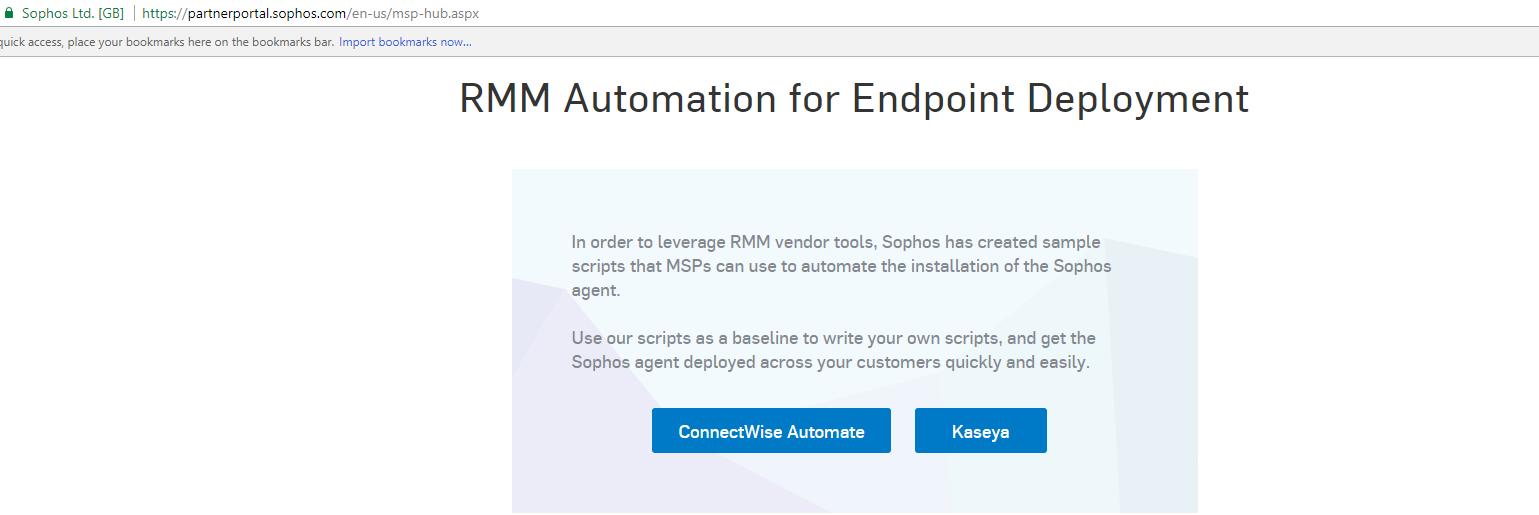 Sophos Scripts Needed - Cool Tools - MSPGeek