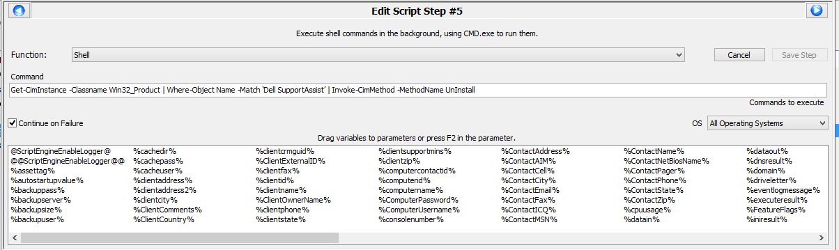 ConnectWise Automate Script - Update Dell SupportAssist - Scripts